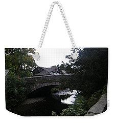 Village Bridge Weekender Tote Bag