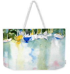 Village Cay Reflections Weekender Tote Bag