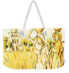 Punjabi Village Girls  Weekender Tote Bag
