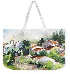 Village Life 5 Weekender Tote Bag
