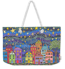 Village Lights Weekender Tote Bag