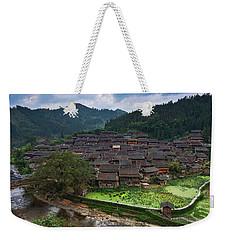 Village Of Joy Weekender Tote Bag