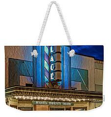Village Theater Weekender Tote Bag