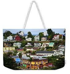 Village View  Sig Weekender Tote Bag