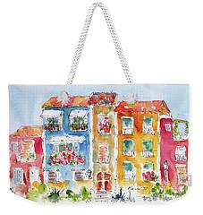 Villajoyosa Spain Weekender Tote Bag by Pat Katz