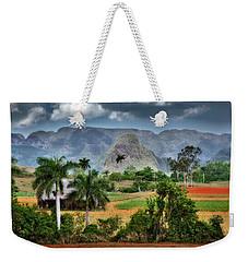 Vinales. Pinar Del Rio. Cuba Weekender Tote Bag
