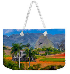 Vinales Valley. Cuba Weekender Tote Bag