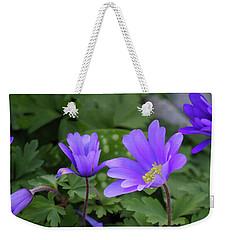 Vinca In The Morning Weekender Tote Bag