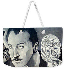 Vincent Price Weekender Tote Bag