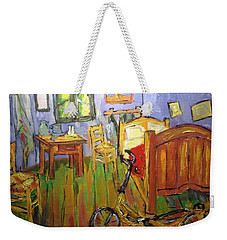 Vincent Van Go's Bedroom Weekender Tote Bag