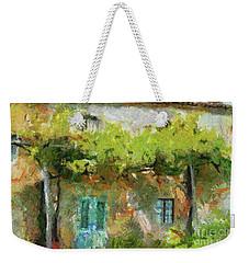 Vine Pergola Weekender Tote Bag by Dragica Micki Fortuna