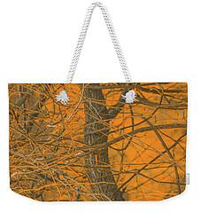 Vine Wood Abstract Weekender Tote Bag