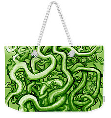 Vines Of Green Weekender Tote Bag by Kevin Middleton