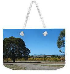 Vineyard Trees Weekender Tote Bag
