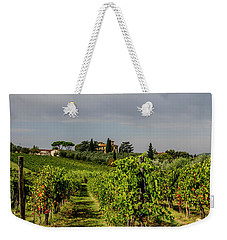 Vineyard View Weekender Tote Bag by Jean Haynes