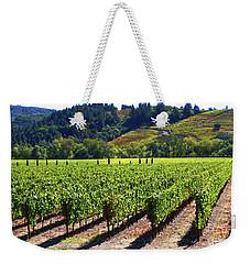 Vineyards In Sonoma County Weekender Tote Bag