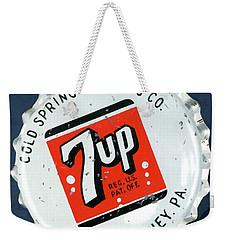 Vintag Bottle Cap, 7up Weekender Tote Bag