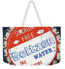 Vintag Bottle Cap, Seltzer Weekender Tote Bag
