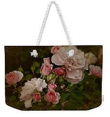 Vintage June 2016 Roses Weekender Tote Bag