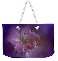 Vintage Amaryllis No. 3 Weekender Tote Bag by Richard Cummings
