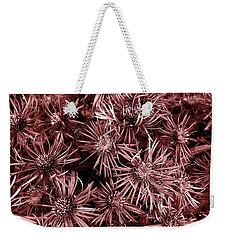 Vintage Asters Weekender Tote Bag by Danielle R T Haney
