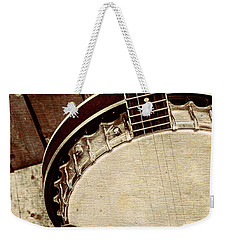 Vintage Banjo Barn Dance Weekender Tote Bag
