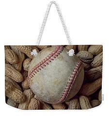 Vintage Baseball And Peanuts Square Weekender Tote Bag
