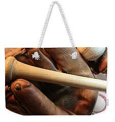 Vintage Baseball Weekender Tote Bag