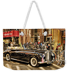 Vintage Bentley Convertible Weekender Tote Bag