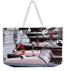 Vintage Boats Weekender Tote Bag