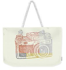 Vintage Camera 2 Weekender Tote Bag