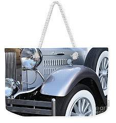 Weekender Tote Bag featuring the photograph Vintage Car by Mary-Lee Sanders