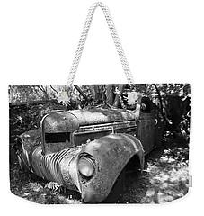 Vintage Car Weekender Tote Bag