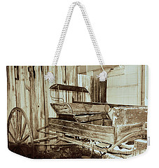 Vintage Carriage Weekender Tote Bag