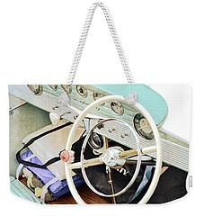 Vintage Century Boat Interior Weekender Tote Bag
