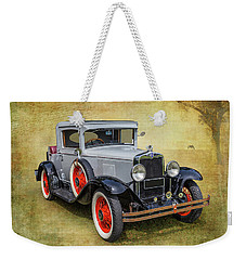 Vintage Chev Weekender Tote Bag by Keith Hawley