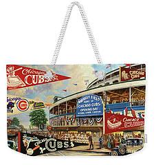 Vintage Chicago Cubs Weekender Tote Bag