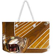 Vintage Century Boat Bow Light Weekender Tote Bag