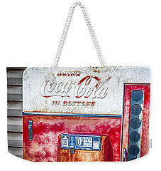 Vintage Coca-cola Machine 10 Cents Weekender Tote Bag