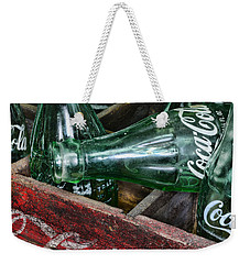 Vintage Coke Square Format Weekender Tote Bag
