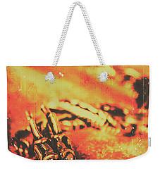 Vintage Dragon Charm Weekender Tote Bag