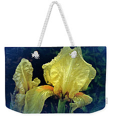Vintage Dwarf Iris Weekender Tote Bag by Richard Cummings