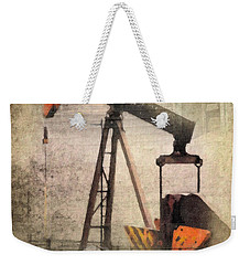 Vintage Enterprise Weekender Tote Bag by Betty LaRue