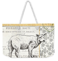 Vintage Farm 3 Weekender Tote Bag by Debbie DeWitt