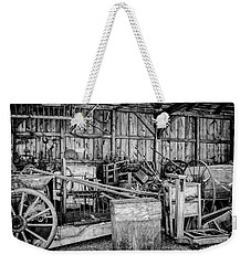Vintage Farm Display Weekender Tote Bag