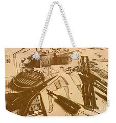 Vintage Fashion Design Weekender Tote Bag