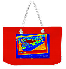 Heat Map Vintage Ferrari G T O Most Expensive Car Ever Sold  Weekender Tote Bag