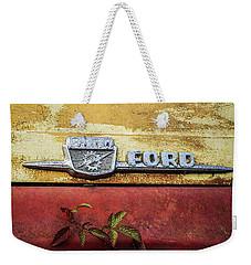 Vintage Ford Logo Weekender Tote Bag