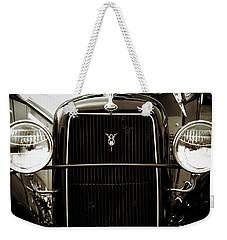 Vintage Ford V8 Weekender Tote Bag