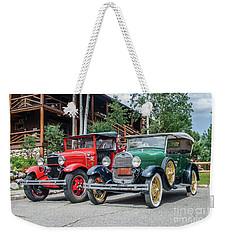 Vintage Ford's Weekender Tote Bag